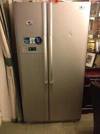 Great LG frost free double door fridge freezer