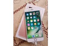 IPhone 7 plus 32gb on o2 Giffgaff and Tesco mobile