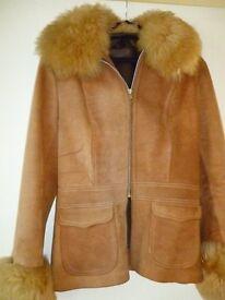 70's suede jacket