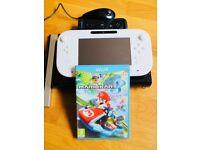 Nintendo Wii U 32gb + Mario Kart 8 + accessories
