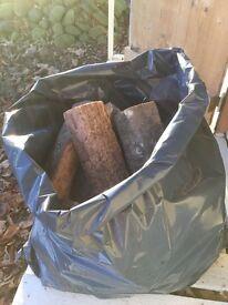 Kiln Dried Logs in Bags