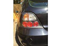 Mg Zr / rover 25 Lexus lights