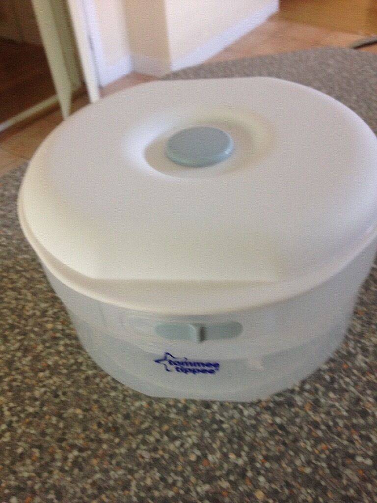 tommee tippee microwave and cold water steriliser instructions