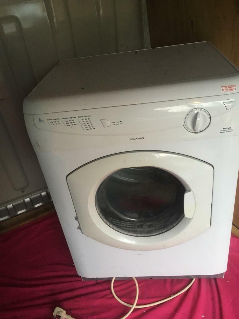 HOTPOINT TUMBLE DRYER SPARES OR REPAIRS