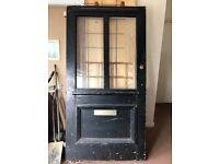 Antique 1920's Front Door