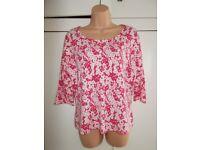 Brand new tagged Minuet print jumper size 18