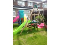 Little tikes/tykes climbing/slide/swing frame