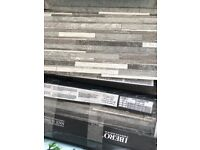 2 packs of tiles 57x19 cm