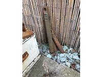 Job Lot Old Cast Iron Sash Window Weights