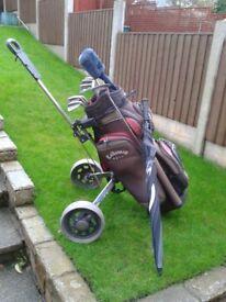 golf clubs & accessories