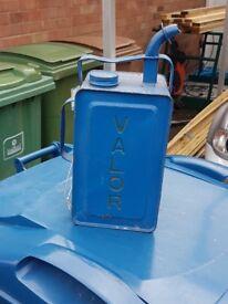 antique fuel petrol can