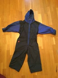 Child's wet weather waterproof all in one outfit age 4