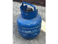 4.5kg butane gas bottle half full