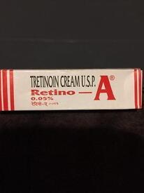Brand new, sealed Tretinoin 0.05% cream
