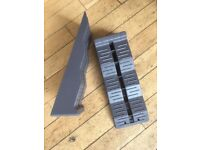 Fiamma Levelling Blocks Almost new. £12 pair