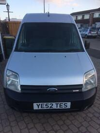 07 1800 tdci private plate Ford transit connect