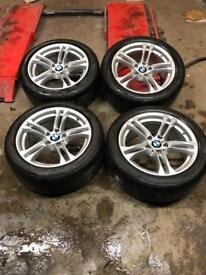 BMW 5-Series m sport alloys