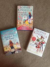 Brand New: Sophie Kinsella hardback shopaholic books x 3
