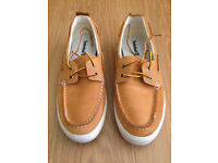 Timberland sand Boat shoes size 8. Hardly used £130.00 RRP