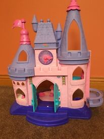 Fisher Price Little People- Interactive Disney Princess Castle