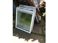 Window inserts (wood) x9 (no frames)