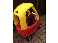 Little tikes cozy coupe ride on car
