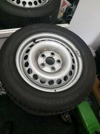 VW T5 205 65 16 wheels and tyres