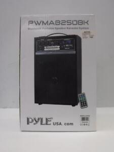 Pyle Bluetooth Portable Speaker Karaoke System - We Buy and Sell Home Audio and Pro Audio Equipment - 112926 - JY0113408