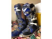 Alpine stars size 11 tech 8 motocross boots