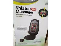 SHIATSU HEATED MASSAGE BACK NECK SHOULDERS