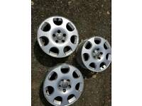 Audi alloy wheels