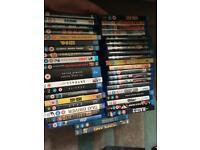 40 odd Blu-ray dvds