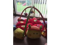 Mamas and papas lottie baby gym