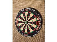 🎯180🎯 winmau dart board + bullseye cabinet Dundee/deliver 🎯180🎯