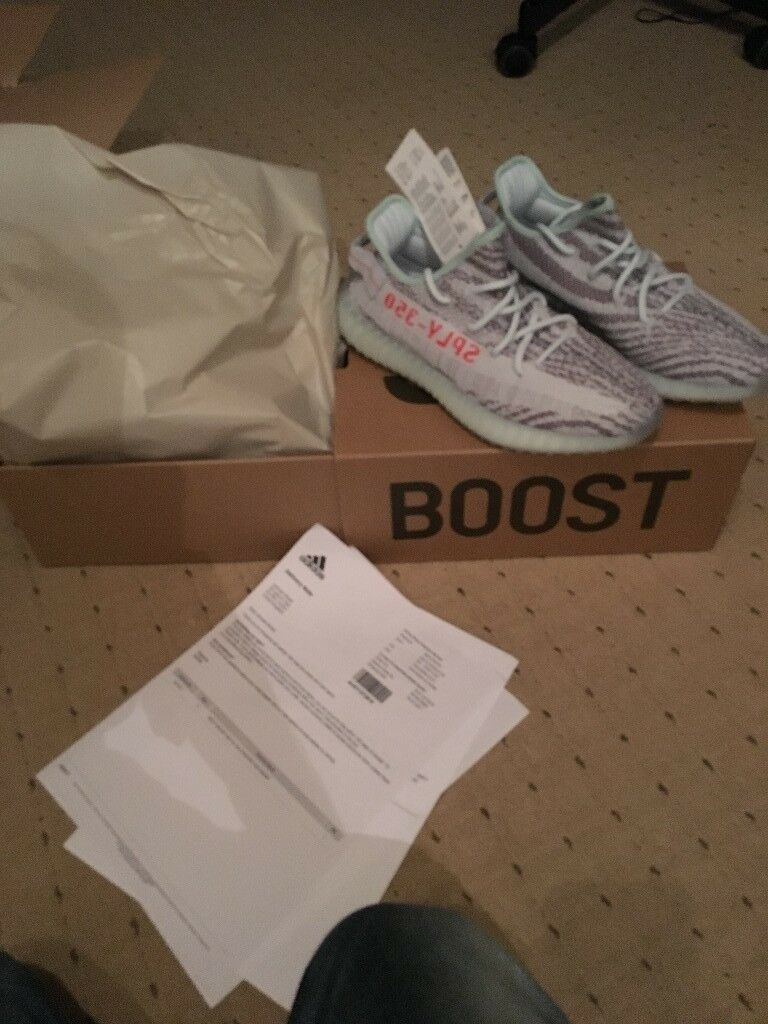 0d1099fc3 Adidas Yeezy V2 350 Blue Tint BNIB UK6.5 and UK8 With Receipt 250