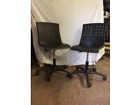 Black Swivel Office Chairs
