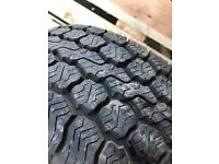 Spare tyre from VW Crafter - never used