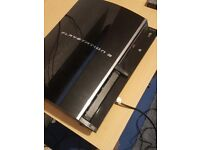 "PS3 ""Fat"" Model (60GB) with PS2 backwards compatibility"