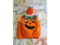 Pumpkin costume 3-5yrs