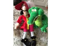 Children's toy Captain Hook and ticking Croc