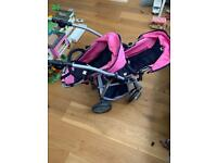 Double buggy tandem Bayer chic 2000