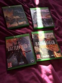 Xbox games for swap