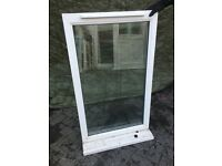 Used white Upvc Window glazed Work shop, shed, garden building W6