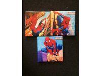 Mini Spider-Man canvas'