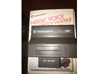 Commodore Magic Voice Speech Module For Commodore 64. C64. Not zx spectrum, bbc, amstrad. Rare.