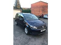 VW Touran 2013 reg 5 door MPV Automatic 7 seaters family car low miles 52150 good condition