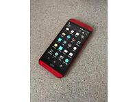 HTC ONE M8 Unlocked Simfree Red