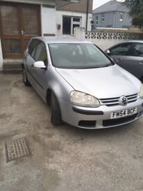 Volkswagen Golf TDI 2005 silver 3 months mot great little runner