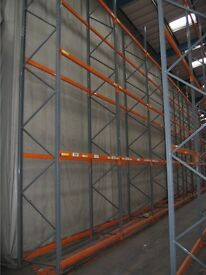 JOBLOT DEXION pallet racking excellent condition ( pallet racking , industrial storage )