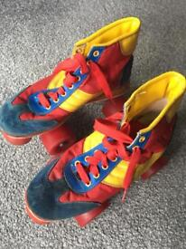 Genuine 80's roller boots